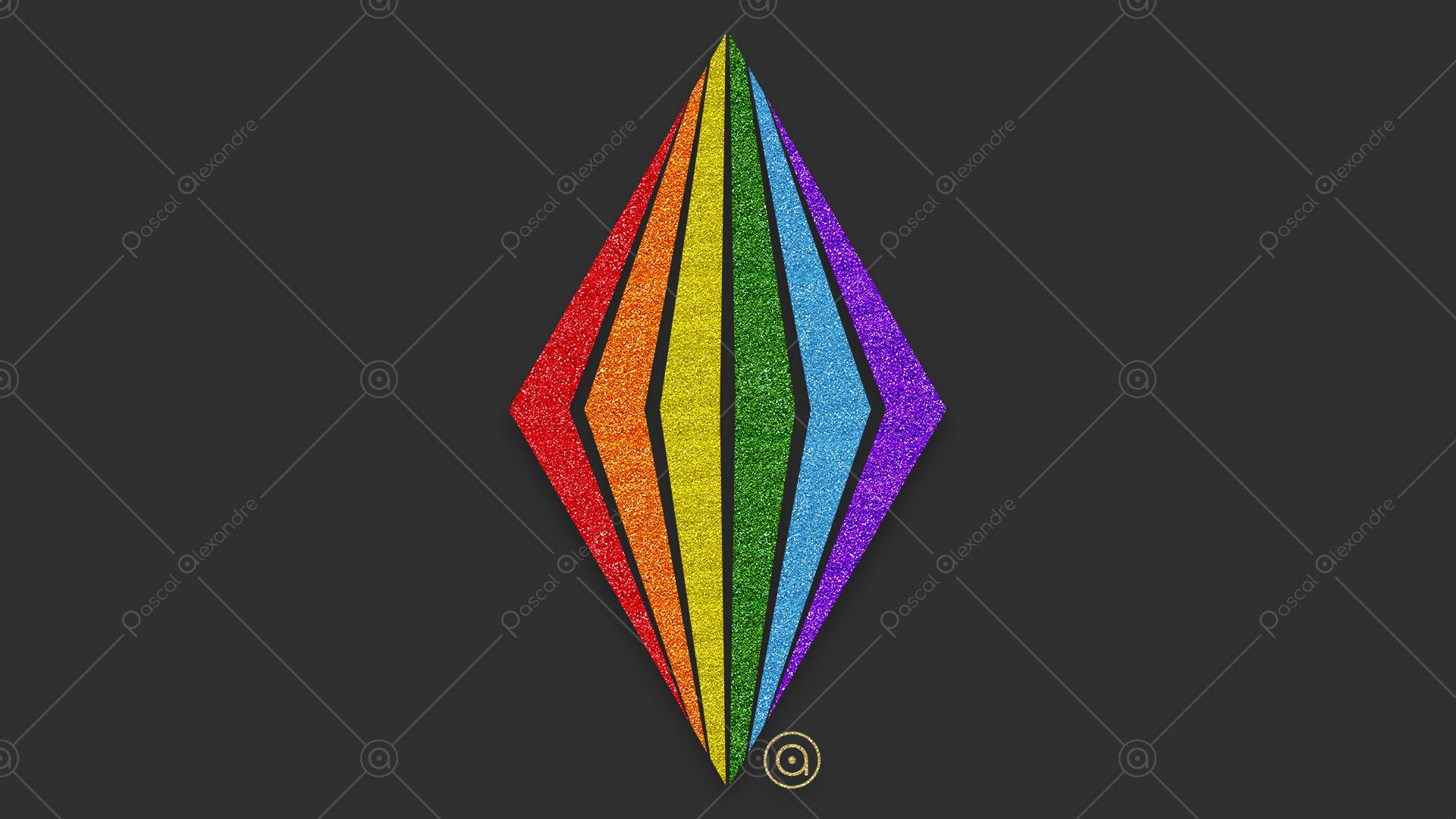 Abstract Rainbow 1555692936