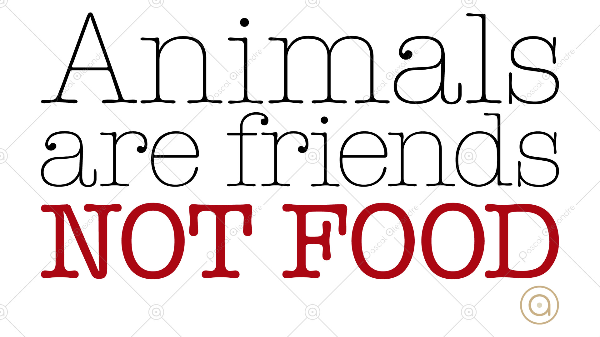 Animals Are Friends Not Food 1530996624