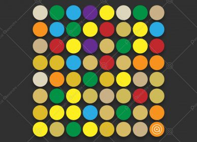 Dots Multicolor Rainbow 1553982387