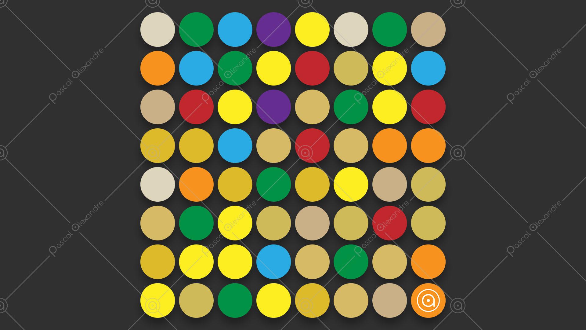 Dots Multicolor Rainbow 1553982387