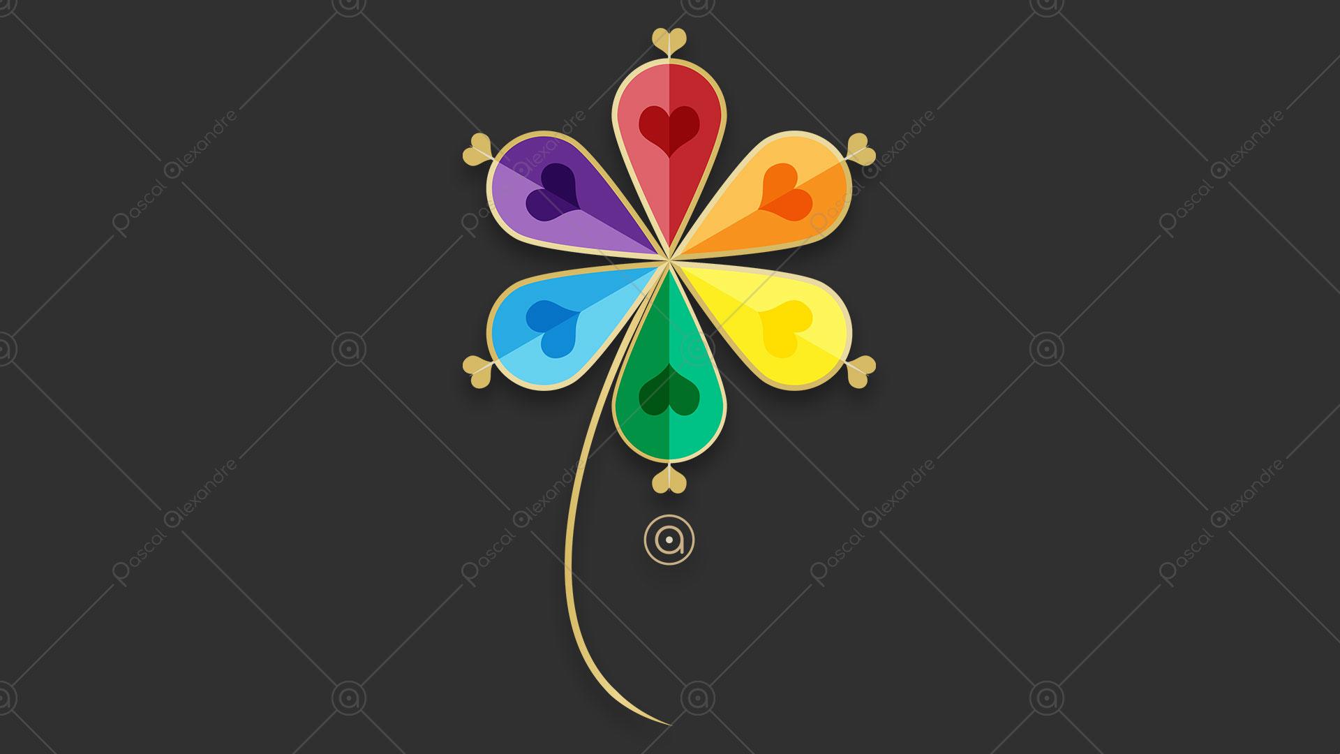Flower Rainbow 1532800821
