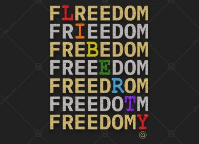 Freedom Liberty Rainbow 1554665221