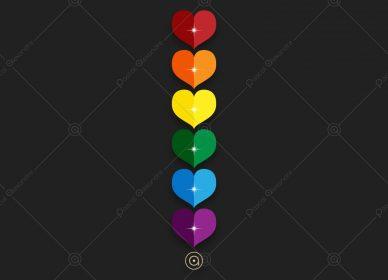 Hearts Rainbow 1546217959