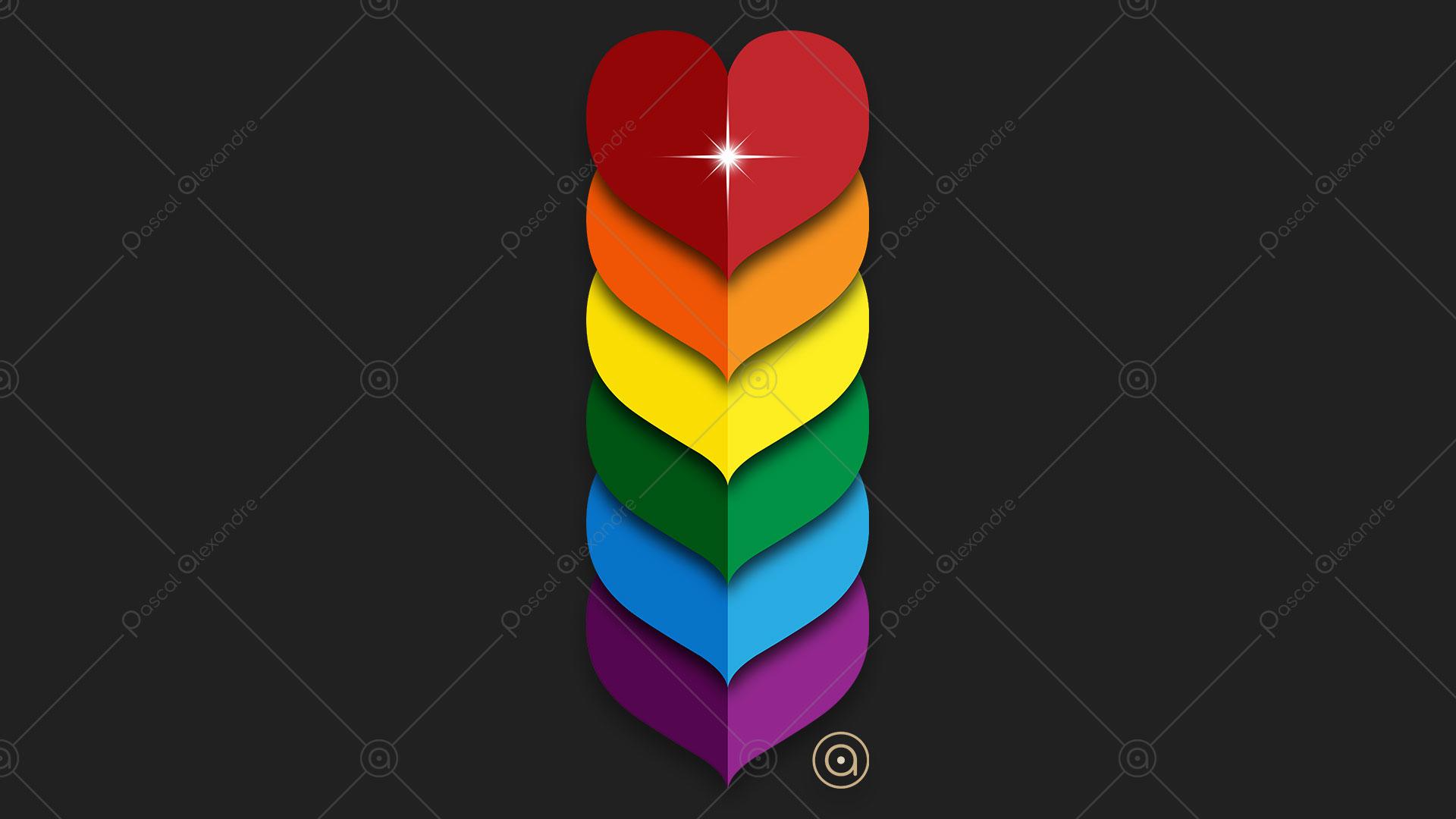 Hearts Rainbow 1546218643