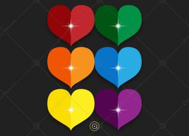 Hearts Rainbow 1546218831