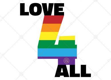 Love 4 All Rainbow 1554691712