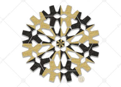 Rosace Black Gold 1556337160