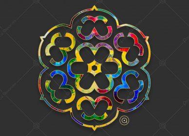 Rosace Multicolor 1550716660