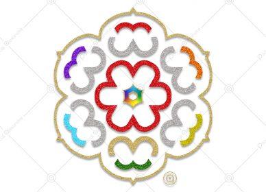 Rosace Rainbow 1550714223