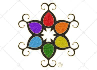 Rosace Rainbow 1552632732