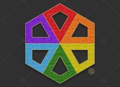 Rosace Rainbow 1552770216