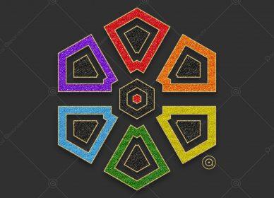 Rosace Rainbow 1552778173