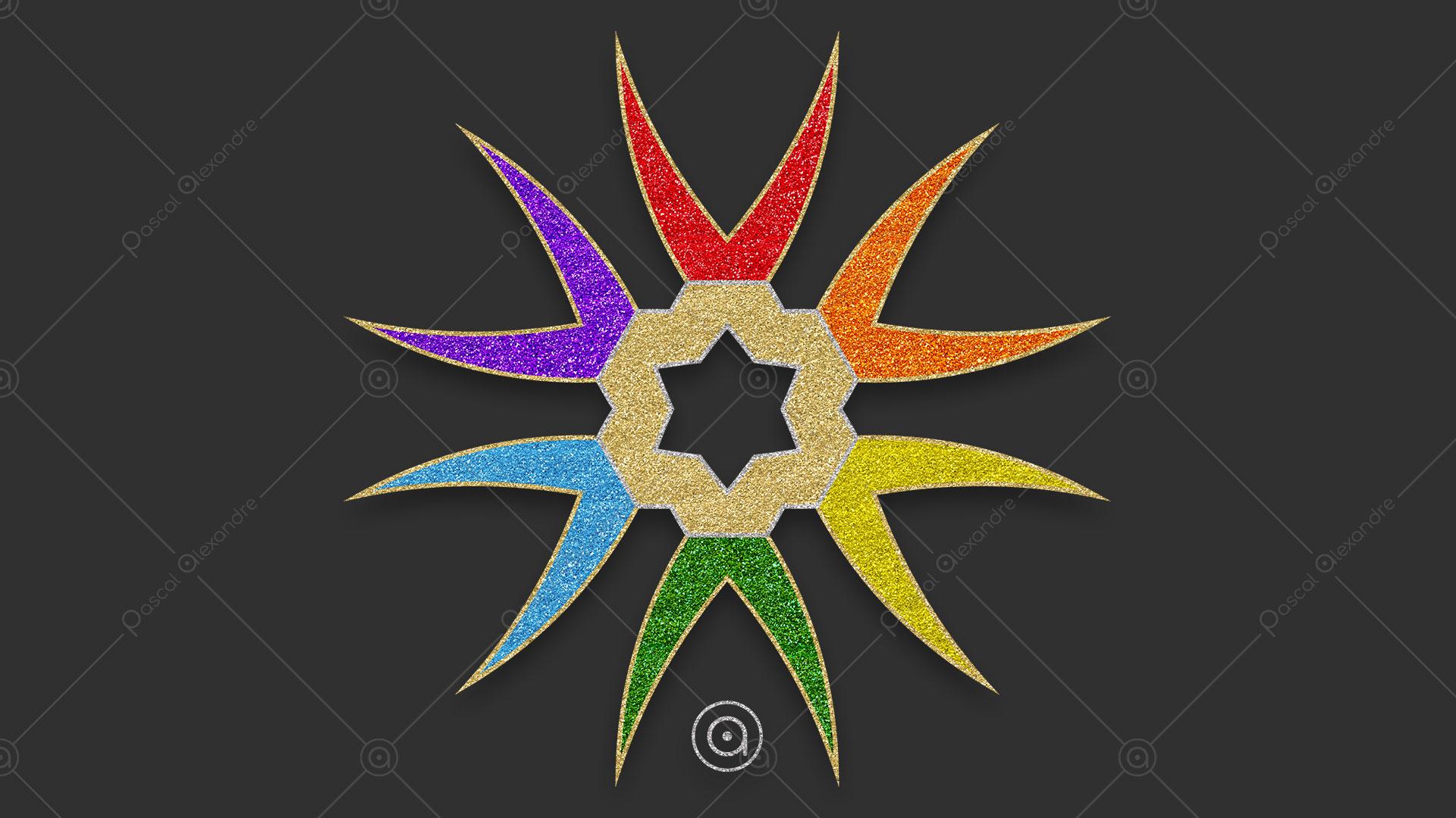 Rosace Rainbow 1553052000
