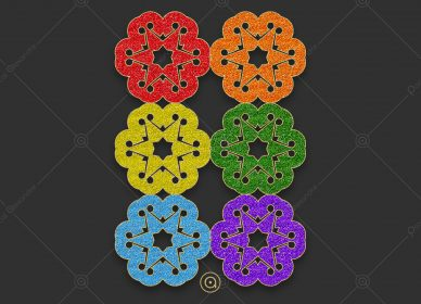 Rosace Rainbow 1553971213