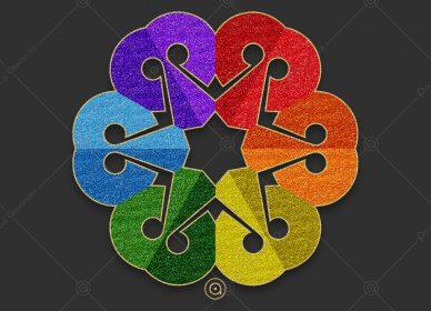 Rosace Rainbow 1553976376