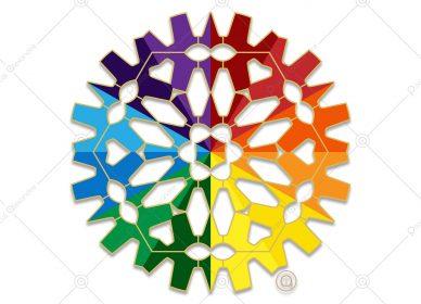 Rosace Rainbow 1556210586
