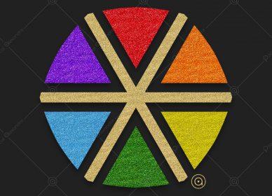 Rosace Rainbow 1557956163