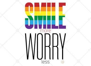 Smile More Worry Less 1557990393