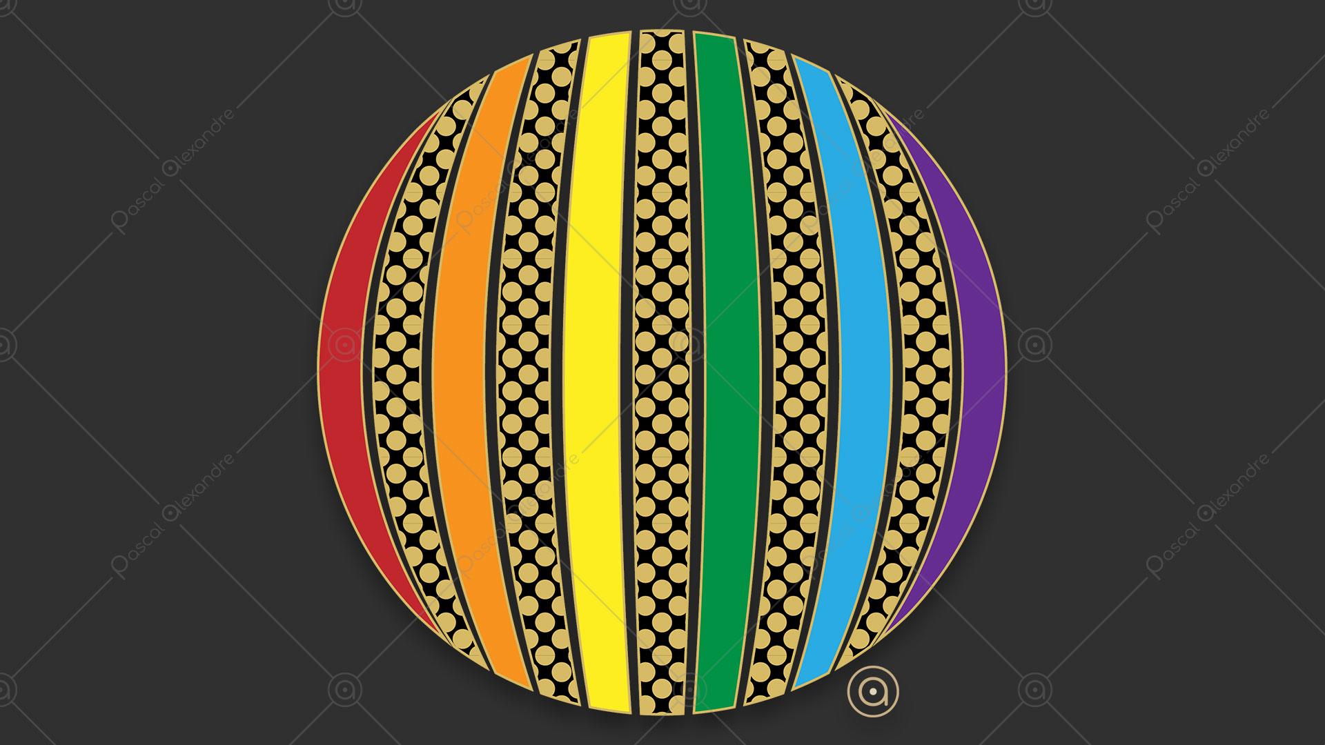 Sphere Rainbow 1554415126