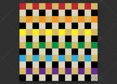 Squares Rainbow 1553380185