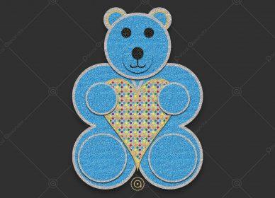Teddy Bear Love Rainbow 1553784574